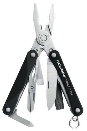 831234 SQUIRT PS4 BLACK (NEGRO) - LEATHERMAN