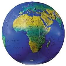 INFLATE-A-GLOBE TOPOGRAPHICAL 16