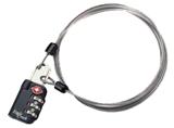 41028 3-DIAL LOCK & CABLE. SECURE [CANDADO] -EAGLE CREEK