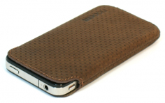 FUNDA IPHONE MARRON -NOOEM