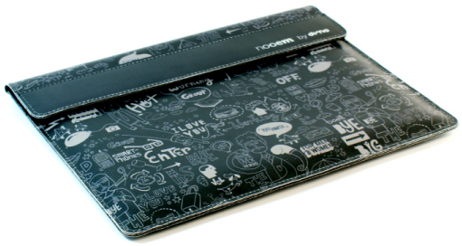 FUNDA IPAD NEGRA GRAFFITTI -NOOEM
