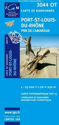 3044 OT PORT-ST-LOUIS-DU-RHONE 1:25.000 -TOP 25 IGN