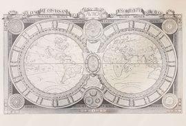 MONDE CONNU 1688 [MURAL-MAPES ANTICS] AV.ROY -IGN