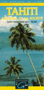 TAHITI-ARCHIPEL DE LA SOCIETE 1:100.000 -OUTRE MER IGN