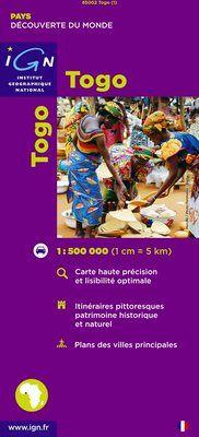 TOGO 1:500.000 -DÉCOUVERTE DES PAYS DU MONDE -IGN