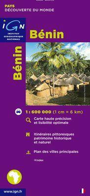 REPUBLIQUE DU BENIN 1:600.000 -IGN
