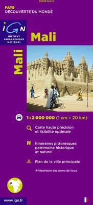 MALI 1:2.000.000 -IGN DECOUVERTE DES PAYS DU MONDE