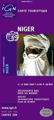 NIGER 1:2.000.000 -DÉCOUVERTE DES PAYS DU MONDE -IGN