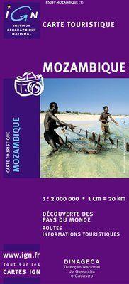 MOZAMBIQUE 1:2.000.000 -IGN DECOUVERTE DES PAYS DU MONDE