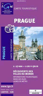 PRAGUE 1:17.000 -IGN DECOUVERTE DES VILLES DU MONDE