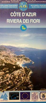 1A 1B COTE D'AZUR [FRA-ITA] RIVIERA DEI FIORI 1:25.000 -IGN