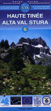 6 HAUTE TINEE [ENG-DEU] ALTA VAL STURA 1:25.000 -IGN