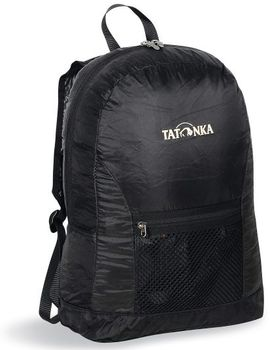 MOCHILA PLEGABLE [2216.040] SUPERLIGHT BLACK BACKPACK -TATONKA
