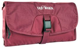 SMALL TRAVELCARE BORDEAUX RED NECESER -TATONKA