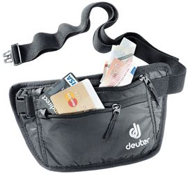 3910216-7000 SECURITY MONEY BELT I BLACK-DEUTER