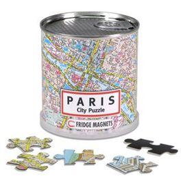 PARIS [LATA MAGNETIC CITY PUZZLE] 100 PIEZAS. 26X35 CM