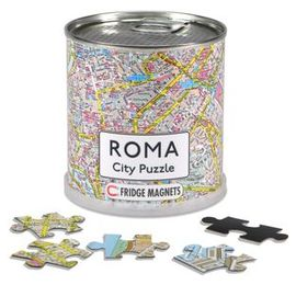 ROMA [LATA MAGNETIC CITY PUZZLE] 100 PIEZAS -FRIDGE MAGNETS