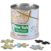 NUEVA YORK [LATA MAGNETIC CITY PUZZLE] 100 PIEZAS -FRIDGE MAGNETS