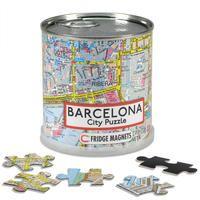 BARCELONA [LATA MAGNETIC CITY PUZZLE] 100 PIEZAS. 26X35 CM