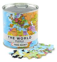 WORLD, THE [LATA MAGNETIC PUZZLE] 100 PIEZAS -FRIDGE MAGNETS