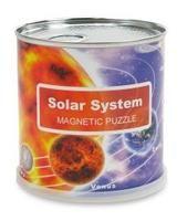 SOLAR SYSTEM. MAGNETIC PUZZLE [CAJA LATA] 100 PIEZAS [26X35] -FRIDGE MAGNETS
