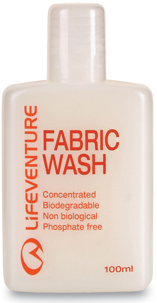 62080 FABRIC WASH 100 ML [DETERGENTE LIQUIDO] -LIFEVENTURE