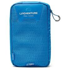 63041 SOFT FIBRE ADVANCE TREK TOWEL. BLUE XL [130 X 75] -LIFEVENTURE