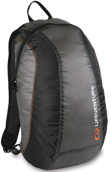 69210 ULTRALITE PACKABLE DAYSACK 16L. CHARCOAL -LIFEVENTURE