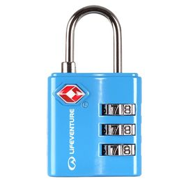 TSA COMBINATION LOCK. BLUE -LIFEVENTURE