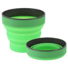 SILICONE FLEXIMUG. GREEN -LIFEVENTURE