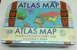 ATLAS MAP [MALETA PUZZLE]