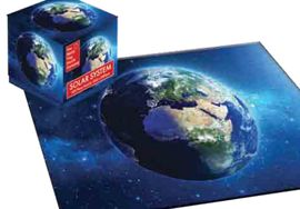 EARTH -CUBE PUZZLE