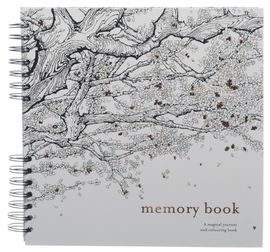 MEMORY BOOK ADULT COLOURING BOOK