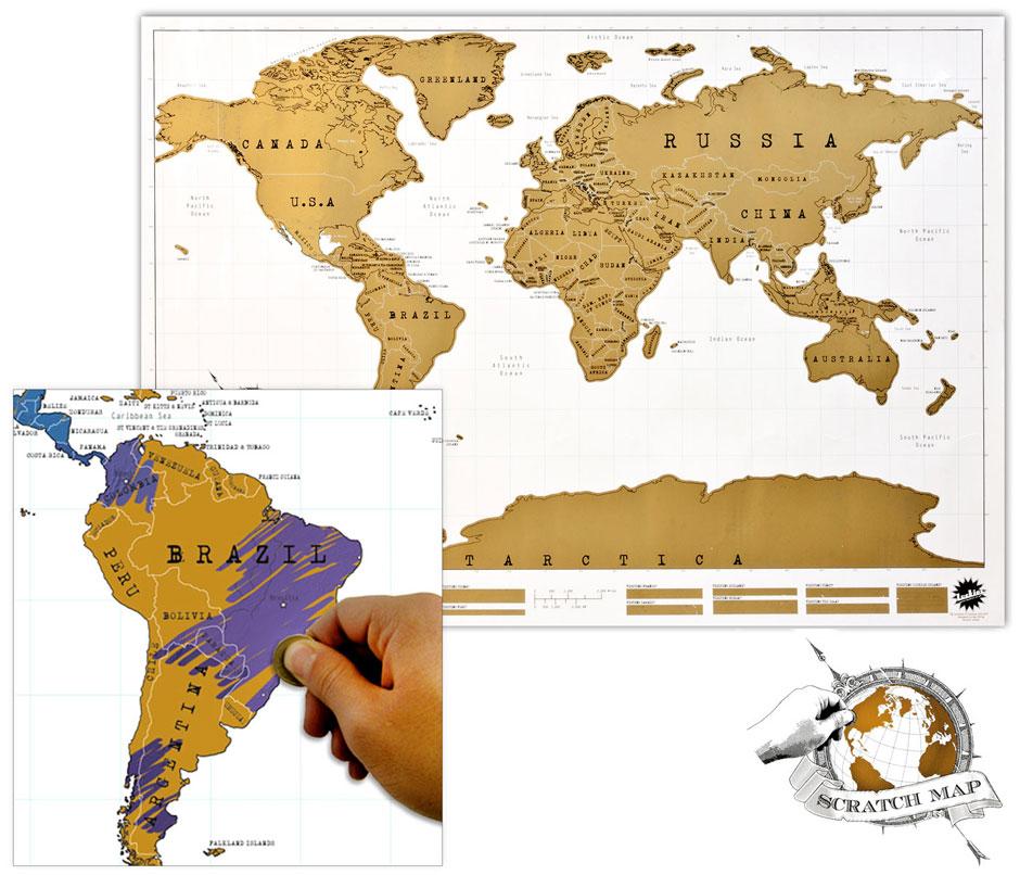 SCRATCH MAP [MURAL]