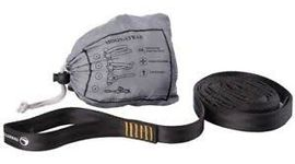 TMSTRAP MOONSTRAPS WEBBING (2 X 250CM ) BLACK -TICKET TO THE MOON