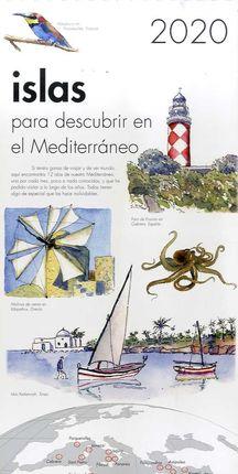 2020 CALENDARIO ISLAS PARA DESCUBRIR EN EL MEDITERRÁNEO