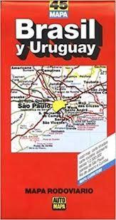 45 BRASIL Y URUGUAY/MAPA RODOVIARIO-AUTOMAPA