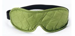 EYE SHADES WITH EAR PLUGS. [WASABI / GREY] -ESL02 COCOON