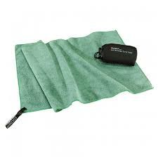 MICROFIBER TERRY TOWEL LIGHT M. BAMBOO GREEN [TTE07-M] -COCOON