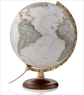 GLOBE 30CM GOLD EXECUTIVE [ESFERA ILUMINATED][CAS] -NATIONAL GEOGRAPHIC