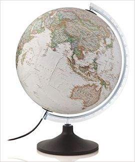 GLOBE 30CM CARBON EXECUTIVE [ESFERA ILUMINADA][CAS] -NATIONAL GEOGRAPHIC