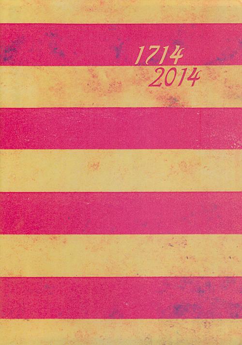 BLOC DE NOTES 1714-2014 [LLIBRETA] 120 PAGINES LLISES