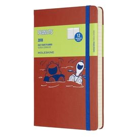 2018 PEANUTS DAILY DIARY [13X21] -MOLESKINE LIMITED EDITION