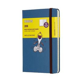 2018 PEANUTS WEEKLY NOTEBOOK DIARY [9X14] -MOLESKINE LIMITED EDITION