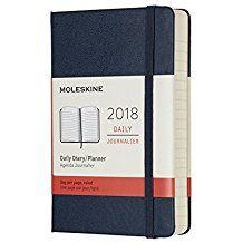 2018 DAILY DIARY AZUL [9X14] -MOLESKINE