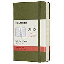 2018 DAILY DIARY VERDE [9X14] -MOLESKINE