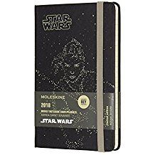 2018 STAR WARS WEEKLY NOTEBOOK DIARY [9X14] -MOLESKINE LIMITED EDITION