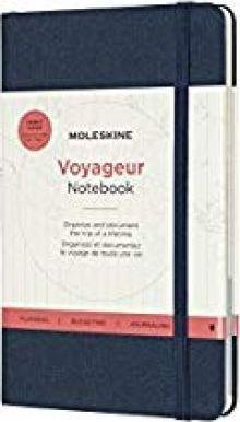 VOYAGEUR NOTEBOOK [AZUL OCEANO] -MOLESKINE