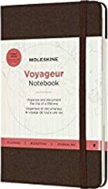 VOYAGEUR NOTEBOOK [MARRON CAFE] -MOLESKINE