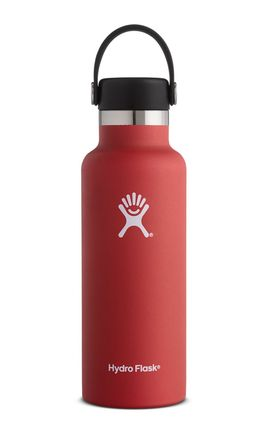 TERMO 16 OZ LAVA [473 ML ROJO] WIDE MOUTH WITH FLIP LID -HYDRO FLASK